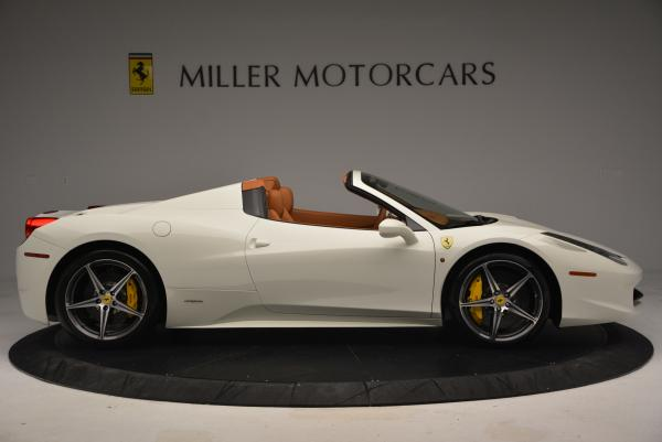 Used 2012 Ferrari 458 Spider for sale Sold at Rolls-Royce Motor Cars Greenwich in Greenwich CT 06830 9
