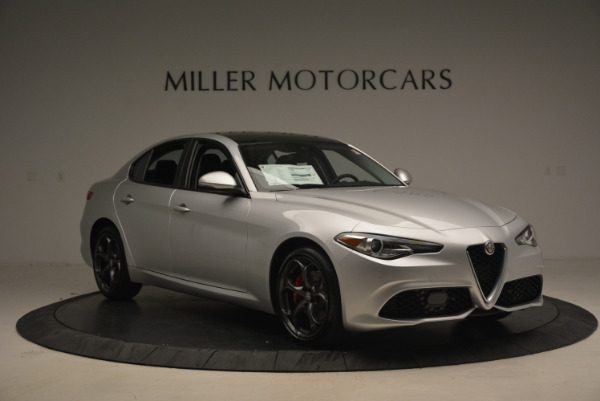 New 2017 Alfa Romeo Giulia Ti Q4 for sale Sold at Rolls-Royce Motor Cars Greenwich in Greenwich CT 06830 11