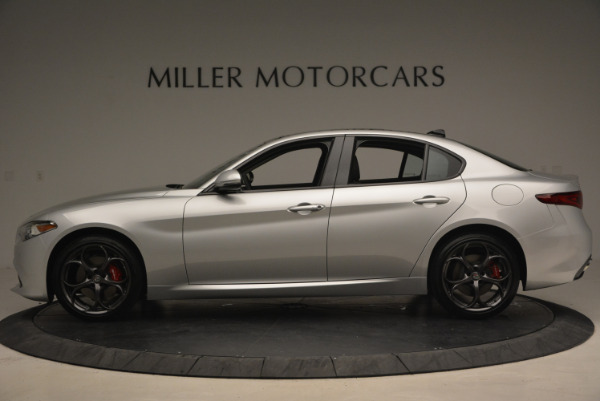 New 2017 Alfa Romeo Giulia Ti Q4 for sale Sold at Rolls-Royce Motor Cars Greenwich in Greenwich CT 06830 3