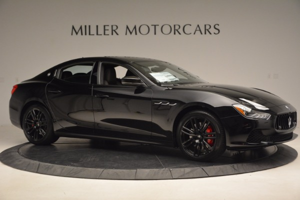New 2017 Maserati Ghibli SQ4 S Q4 Nerissimo Edition for sale Sold at Rolls-Royce Motor Cars Greenwich in Greenwich CT 06830 10