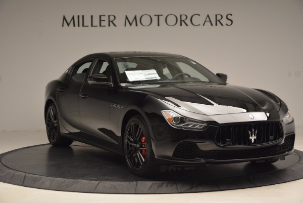 New 2017 Maserati Ghibli SQ4 S Q4 Nerissimo Edition for sale Sold at Rolls-Royce Motor Cars Greenwich in Greenwich CT 06830 11