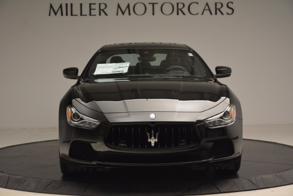 New 2017 Maserati Ghibli SQ4 S Q4 Nerissimo Edition for sale Sold at Rolls-Royce Motor Cars Greenwich in Greenwich CT 06830 12