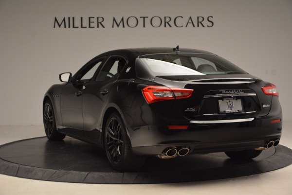 New 2017 Maserati Ghibli SQ4 S Q4 Nerissimo Edition for sale Sold at Rolls-Royce Motor Cars Greenwich in Greenwich CT 06830 5