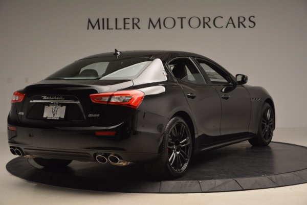 New 2017 Maserati Ghibli SQ4 S Q4 Nerissimo Edition for sale Sold at Rolls-Royce Motor Cars Greenwich in Greenwich CT 06830 7