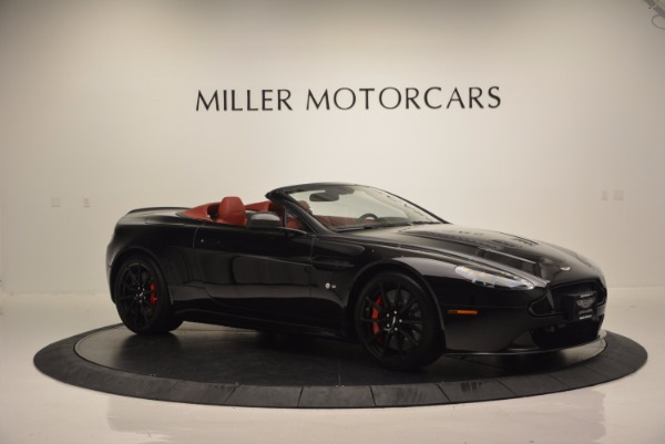 Used 2015 Aston Martin V12 Vantage S Roadster for sale Sold at Rolls-Royce Motor Cars Greenwich in Greenwich CT 06830 10