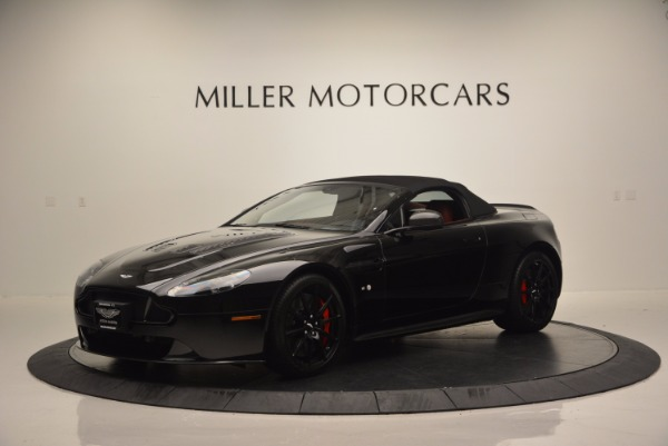Used 2015 Aston Martin V12 Vantage S Roadster for sale Sold at Rolls-Royce Motor Cars Greenwich in Greenwich CT 06830 14