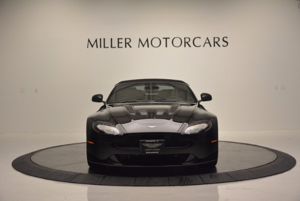 Used 2015 Aston Martin V12 Vantage S Roadster for sale Sold at Rolls-Royce Motor Cars Greenwich in Greenwich CT 06830 18