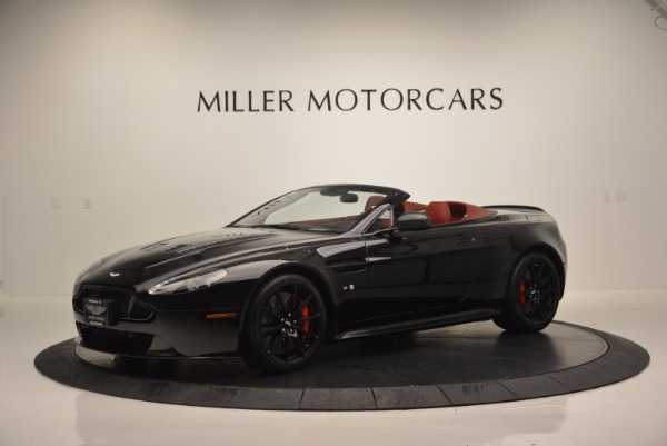 Used 2015 Aston Martin V12 Vantage S Roadster for sale Sold at Rolls-Royce Motor Cars Greenwich in Greenwich CT 06830 2