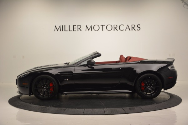 Used 2015 Aston Martin V12 Vantage S Roadster for sale Sold at Rolls-Royce Motor Cars Greenwich in Greenwich CT 06830 3