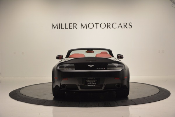 Used 2015 Aston Martin V12 Vantage S Roadster for sale Sold at Rolls-Royce Motor Cars Greenwich in Greenwich CT 06830 6
