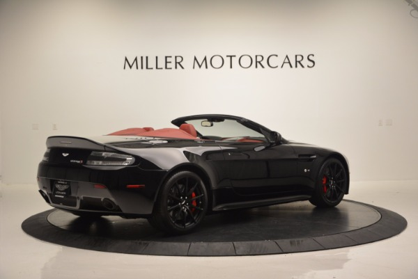 Used 2015 Aston Martin V12 Vantage S Roadster for sale Sold at Rolls-Royce Motor Cars Greenwich in Greenwich CT 06830 8