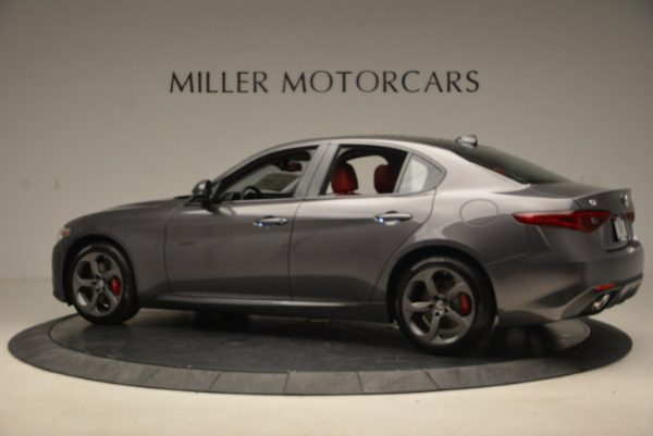 New 2017 Alfa Romeo Giulia Ti Q4 for sale Sold at Rolls-Royce Motor Cars Greenwich in Greenwich CT 06830 4