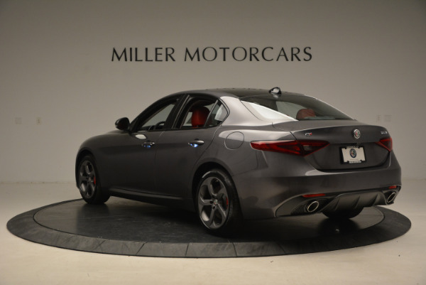 New 2017 Alfa Romeo Giulia Ti Q4 for sale Sold at Rolls-Royce Motor Cars Greenwich in Greenwich CT 06830 5
