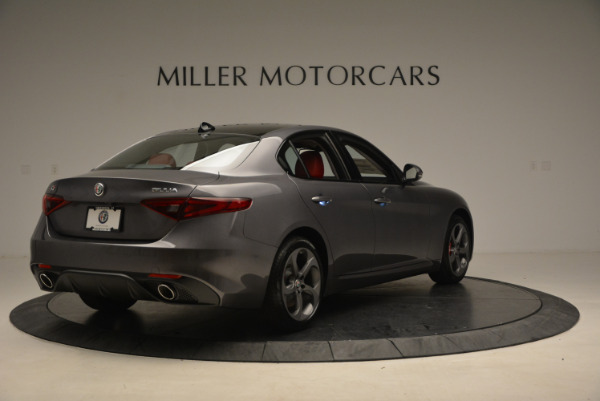 New 2017 Alfa Romeo Giulia Ti Q4 for sale Sold at Rolls-Royce Motor Cars Greenwich in Greenwich CT 06830 7