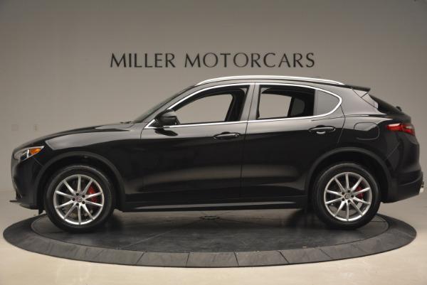 New 2018 Alfa Romeo Stelvio Ti Q4 for sale Sold at Rolls-Royce Motor Cars Greenwich in Greenwich CT 06830 3