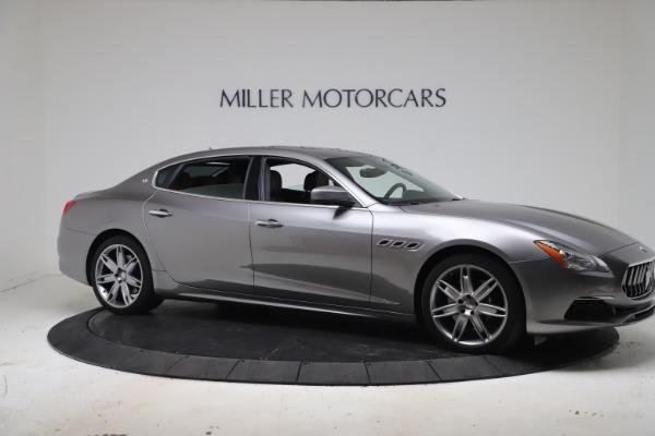 Used 2017 Maserati Quattroporte SQ4 GranLusso/ Zegna for sale $62,900 at Rolls-Royce Motor Cars Greenwich in Greenwich CT 06830 10