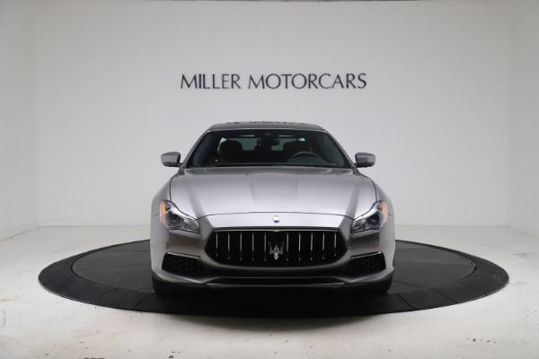 Used 2017 Maserati Quattroporte SQ4 GranLusso/ Zegna for sale $62,900 at Rolls-Royce Motor Cars Greenwich in Greenwich CT 06830 12