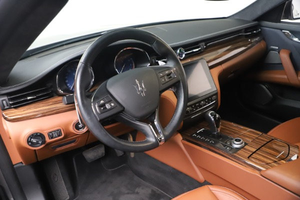 Used 2017 Maserati Quattroporte SQ4 GranLusso/ Zegna for sale $62,900 at Rolls-Royce Motor Cars Greenwich in Greenwich CT 06830 13