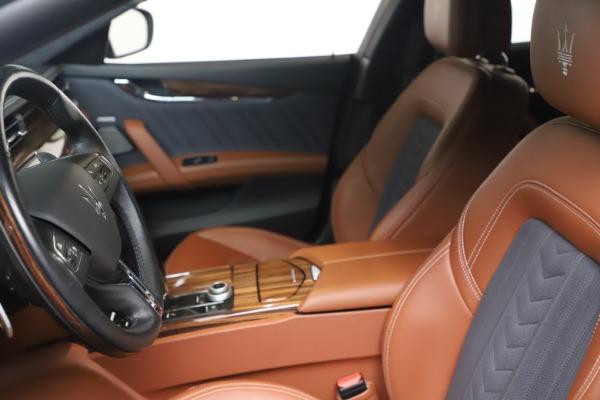 Used 2017 Maserati Quattroporte SQ4 GranLusso/ Zegna for sale $62,900 at Rolls-Royce Motor Cars Greenwich in Greenwich CT 06830 14