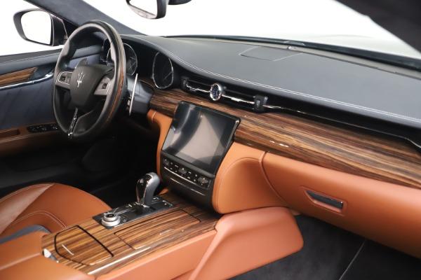 Used 2017 Maserati Quattroporte SQ4 GranLusso/ Zegna for sale $62,900 at Rolls-Royce Motor Cars Greenwich in Greenwich CT 06830 19