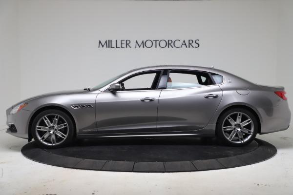 Used 2017 Maserati Quattroporte SQ4 GranLusso/ Zegna for sale $62,900 at Rolls-Royce Motor Cars Greenwich in Greenwich CT 06830 3