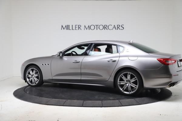 Used 2017 Maserati Quattroporte SQ4 GranLusso/ Zegna for sale $62,900 at Rolls-Royce Motor Cars Greenwich in Greenwich CT 06830 4