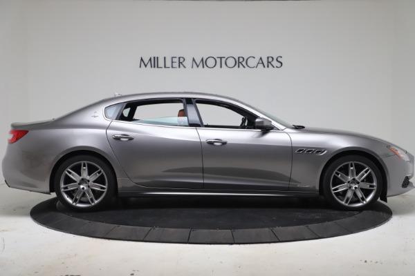 New 2017 Maserati Quattroporte SQ4 GranLusso/ Zegna for sale Sold at Rolls-Royce Motor Cars Greenwich in Greenwich CT 06830 9