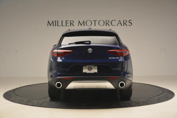 New 2018 Alfa Romeo Stelvio Sport Q4 for sale Sold at Rolls-Royce Motor Cars Greenwich in Greenwich CT 06830 7