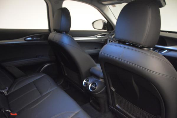 New 2018 Alfa Romeo Stelvio Sport Q4 for sale Sold at Rolls-Royce Motor Cars Greenwich in Greenwich CT 06830 24
