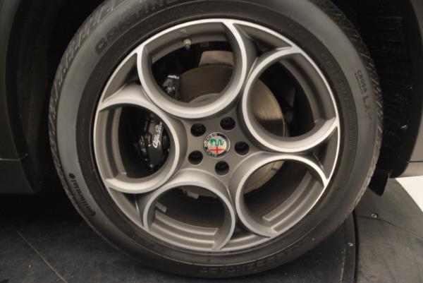 New 2018 Alfa Romeo Stelvio Sport Q4 for sale Sold at Rolls-Royce Motor Cars Greenwich in Greenwich CT 06830 25