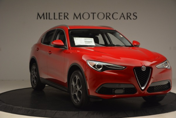 New 2018 Alfa Romeo Stelvio for sale Sold at Rolls-Royce Motor Cars Greenwich in Greenwich CT 06830 11