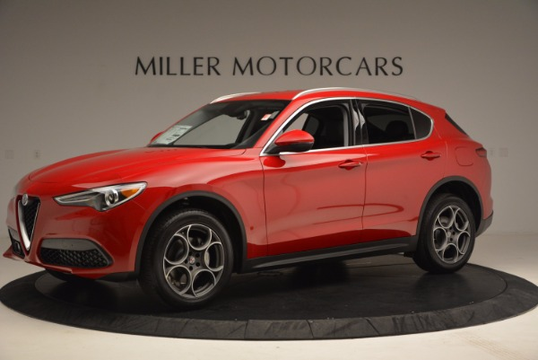 New 2018 Alfa Romeo Stelvio for sale Sold at Rolls-Royce Motor Cars Greenwich in Greenwich CT 06830 2