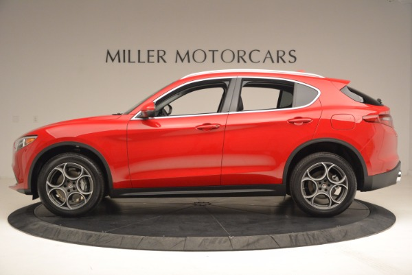 New 2018 Alfa Romeo Stelvio for sale Sold at Rolls-Royce Motor Cars Greenwich in Greenwich CT 06830 3