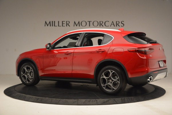 New 2018 Alfa Romeo Stelvio for sale Sold at Rolls-Royce Motor Cars Greenwich in Greenwich CT 06830 4