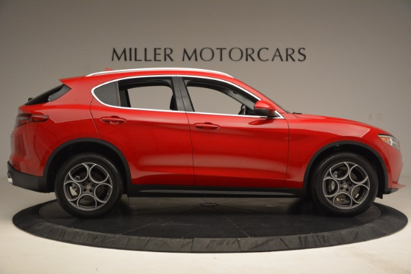 New 2018 Alfa Romeo Stelvio for sale Sold at Rolls-Royce Motor Cars Greenwich in Greenwich CT 06830 9