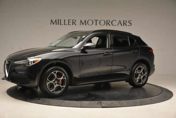 New 2018 Alfa Romeo Stelvio Sport Q4 for sale Sold at Rolls-Royce Motor Cars Greenwich in Greenwich CT 06830 2