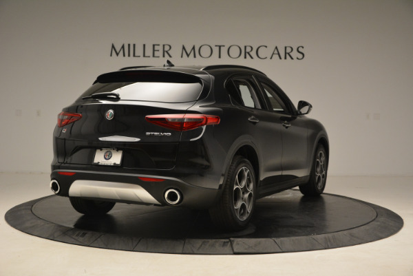 New 2018 Alfa Romeo Stelvio Sport Q4 for sale Sold at Rolls-Royce Motor Cars Greenwich in Greenwich CT 06830 7