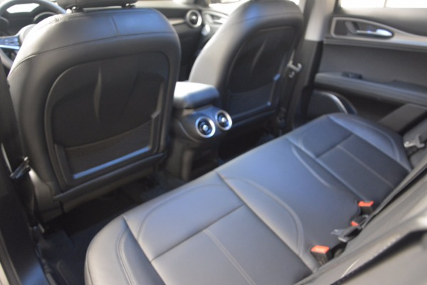 New 2018 Alfa Romeo Stelvio Ti Q4 for sale Sold at Rolls-Royce Motor Cars Greenwich in Greenwich CT 06830 24