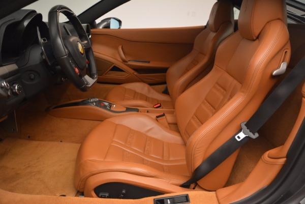 Used 2011 Ferrari 458 Italia for sale Sold at Rolls-Royce Motor Cars Greenwich in Greenwich CT 06830 14