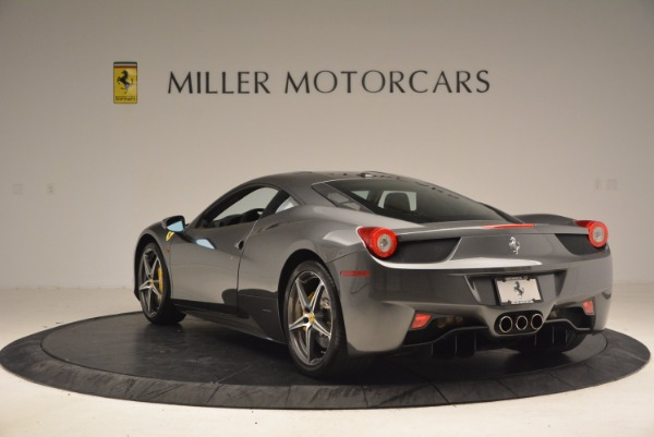 Used 2011 Ferrari 458 Italia for sale Sold at Rolls-Royce Motor Cars Greenwich in Greenwich CT 06830 5