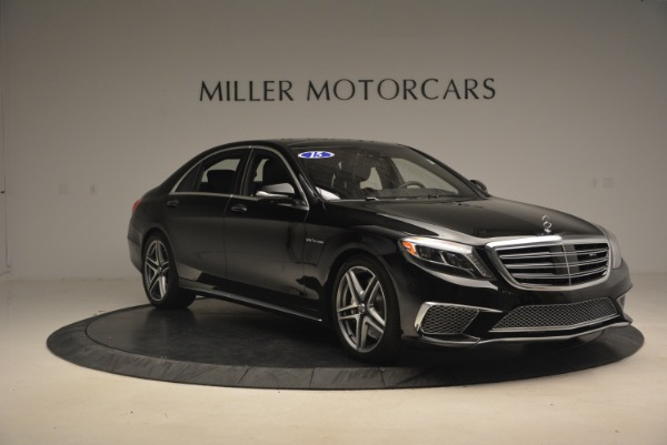 Used 2015 Mercedes-Benz S-Class S 65 AMG for sale Sold at Rolls-Royce Motor Cars Greenwich in Greenwich CT 06830 11