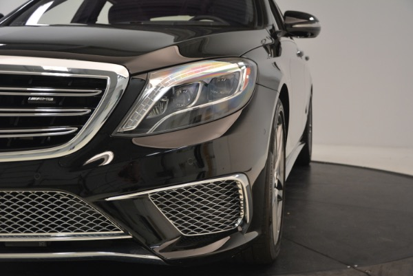 Used 2015 Mercedes-Benz S-Class S 65 AMG for sale Sold at Rolls-Royce Motor Cars Greenwich in Greenwich CT 06830 16