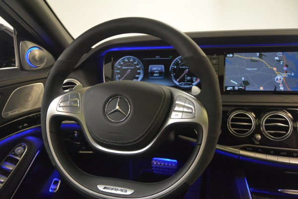 Used 2015 Mercedes-Benz S-Class S 65 AMG for sale Sold at Rolls-Royce Motor Cars Greenwich in Greenwich CT 06830 24