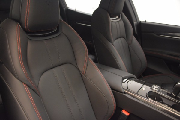 New 2017 Maserati Ghibli Nerissimo Edition S Q4 for sale Sold at Rolls-Royce Motor Cars Greenwich in Greenwich CT 06830 21