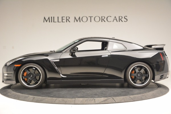 Used 2014 Nissan GT-R Track Edition for sale Sold at Rolls-Royce Motor Cars Greenwich in Greenwich CT 06830 3