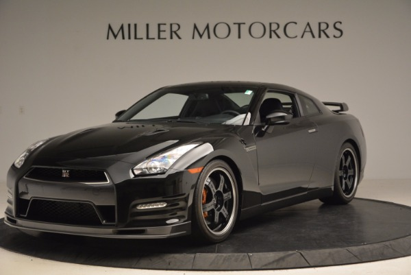 Used 2014 Nissan GT-R Track Edition for sale Sold at Rolls-Royce Motor Cars Greenwich in Greenwich CT 06830 1