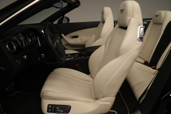 Used 2016 Bentley Continental GTC V8 S for sale $134,900 at Rolls-Royce Motor Cars Greenwich in Greenwich CT 06830 23