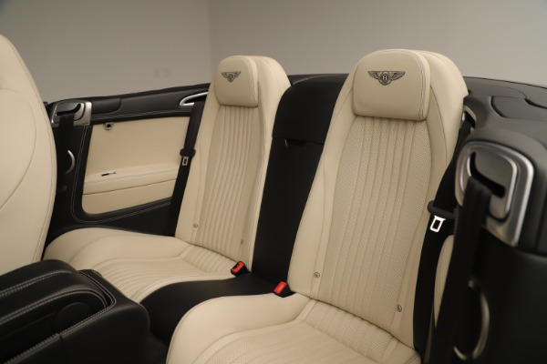 Used 2016 Bentley Continental GTC V8 S for sale $134,900 at Rolls-Royce Motor Cars Greenwich in Greenwich CT 06830 26