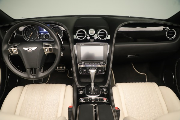 Used 2016 Bentley Continental GTC V8 S for sale $134,900 at Rolls-Royce Motor Cars Greenwich in Greenwich CT 06830 27