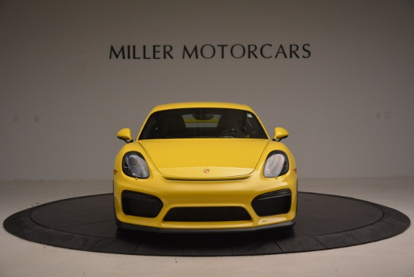 Used 2016 Porsche Cayman GT4 for sale Sold at Rolls-Royce Motor Cars Greenwich in Greenwich CT 06830 12